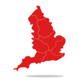 map england vector image