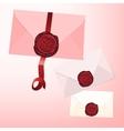 Envelope seal vector image