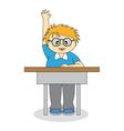 child in school vector image vector image
