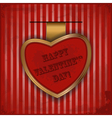 cards for valentines day in vintage style - vector image