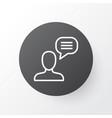 chatting icon symbol premium quality isolated vector image