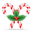 christmas candy stock vector image
