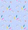 pattern strokes children colorful vector image