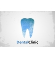 Tooth logo Dental clinic design Dental care vector image
