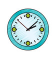 clock and time concept vector image