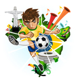 BRAZIL CUP vector image