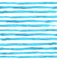 turquoise blue watercolor striped texture vector image