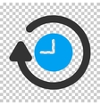 Repeat Clock Icon vector image
