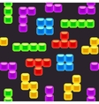 Brick seamless pattern vector image