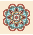 dream Catcher style frame icon vector image