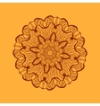 Mandala-like coloring work texture Hand-drawn new vector image