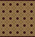 seamless geometric background vector image