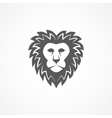 Wild lion head graphic vector image