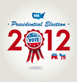 us presidential election 2012 vector image