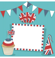 uk party card vector image vector image