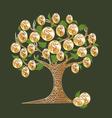 money tree 2 vector image