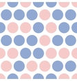 Dots pattern  pink and blue dot vector image