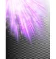 Bright violet light EPS 10 vector image