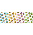 buzzy bee wallpaper vector image