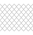 Old steel mesh metal fence seamless structure vector image