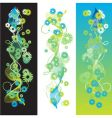 bookmarks flower vector image vector image
