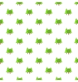 Forest trees pattern cartoon style vector image