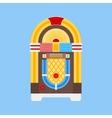 Jukebox Flat Icon vector image