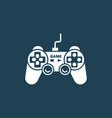joystick game control vector image