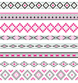 Seamless pattern tribal design Ethnic vector image