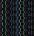 Seamless dark sewing pattern vector image