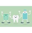 teeth best friend vector image