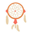dream catcher icon cartoon style vector image