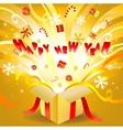 new year box vector image