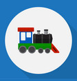 of automobile symbol on train vector image