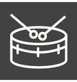 Snare Drum vector image