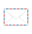 Closed envelope mail flat icon vector image