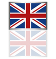 flag of britain vector image