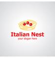 italian nest vector image