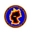 Heraldry of Germany vector image