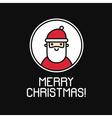 171016 1809 santa icon background vector image