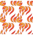 fire seamless isolated vector image