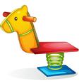 Playground equipment vector image