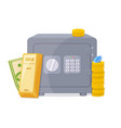 capital banking keeping the money concept vector image