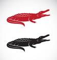 image of an crocodile design vector image