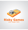 risky games vector image