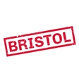 Bristol rubber stamp vector image