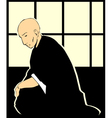 Shinto Priest vector image