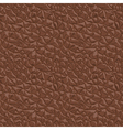 Leather brown seamless texture vector image