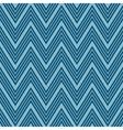 Seamless chevron pattern in retro style vector image