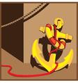 nautical theme vector image